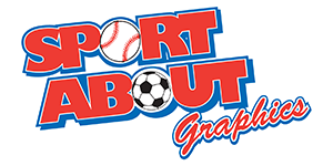 Sport About Graphics Logo for Website Header