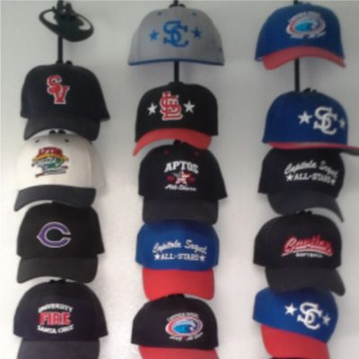 The Famous Hat Wall!