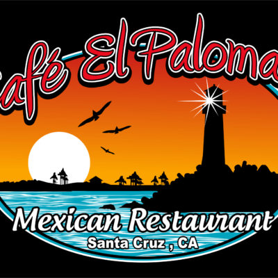 Screen Printing Artwork Render - El Palomar