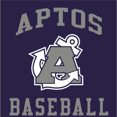 Screen Printing Artwork Render - Aptos High School Baseball